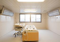 寝浴(機械浴室)、座浴、個浴